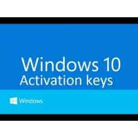 Quality Windows 10 Pro Software , Windows 10 Product Key code online activation for sale