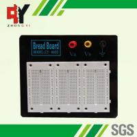 Quality Stainless Steel White Experimental Electronics Breadboard Black Alum Plate for sale