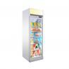 Buy cheap Upright 450L Freezing Ice Cream Glass Door Showcase Freezer from wholesalers