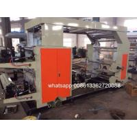 Quality Plastic Bag / Paper Cup 4 Color Flexo Printing Machine Width 900mm for sale