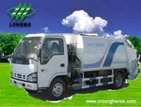 China Garbage Truck ,  Garbage Container Truck,  Garbage Collector,  Garbage Compactor,  Refuse Compactor www.cnlonghorse.com on sale