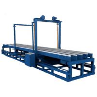 China High Efficiency A Type Eps Foam Cutter 1250 Mm Cutting Width Compact Structure on sale
