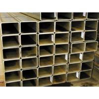 Quality ASTM A500 Carbon Steel Rectangular Steel Pipe / Square Section Steel Tube for sale
