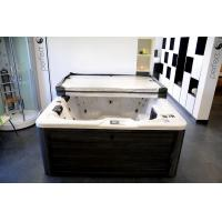 Buy cheap whirlpool massage tempered glass acrylic freestanding bathtub from Wholesalers