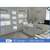 Quality Cutom Attractive Jewelry Wall Display Cases  Retail Jewelry Display Cases for sale