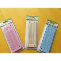 Quality 550 Point Round Hole Breadboard Colorful Circuit Board 15×5.3×0.85 cm for sale