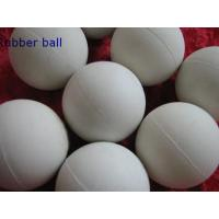 Quality Low Temprature Resistant HNBR Solid Industrial Ball , Rubber Medicine Ball for sale