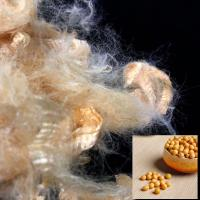 China 100% Soybean Protein Fiber With Excellent Physical And Mechanical Properties on sale
