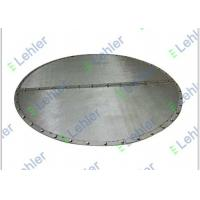 China High Filtration Rate sintered mesh Internals , 5 Micron Ssintered mesh plate on sale