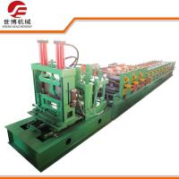 Quality Construction CZ Purlin Roll Forming Machine With Adjustable Cutting System for sale