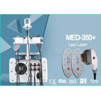 China Multifunction 650nm Lipo Laser Body Shaper Machine Non - Ablative Rejuvenation on sale