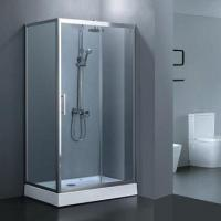 Quality Square shower sliding door, 6/8mm tempered glass for sale