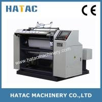 China Automation POS Paper Slitter Rewinder,ATM Paper Slitting Machinery,NCR Paper Winding Slitting Machine on sale