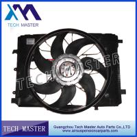 Quality OEM 2045000293 Auto Engine Radiator Cooling Fan DC 12V Assembly Mercedes W204 W212 for sale