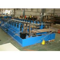 China Automatic Sheet Metal Forming Machine , Goods Shelves Steel Frame Roll Forming Machine on sale
