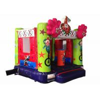 China Classic inflatable clown jump bouncer simple kids inflatable bounce house for child under 7 years on sale