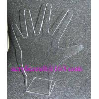 Quality Acrylic ring display stand, clear PMMA hand shape finger ring display rack for sale