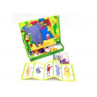 China Funny Childrens Educational Games , Match Game Set Magnet Activities For Kids on sale