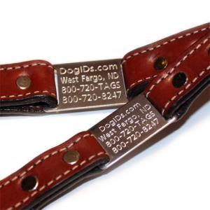 China Genuine leather Large Dog Collars 2C GCDC-012 on sale