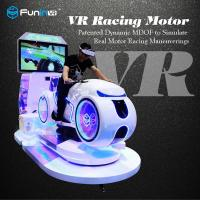 Quality Real Feeling Car Driving Vr Simulator Motorcycle Racing Vr Cinema For Game Zone for sale