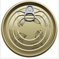 Buy 307# 83mm tinplate easy open end, EOE,tin can lids at wholesale prices