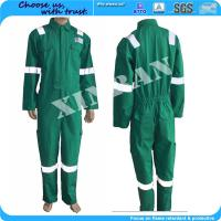 Quality Oil and gas field Bomber ppe china manufacture Fireproof Nomex Antistatic Work Uniform in fire suit for sale