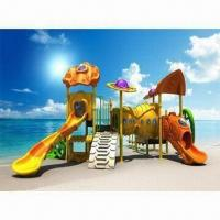 Quality Sailing Boat Series Outdoor Playground Equipment, Suitable for Kindergarten and Restaurant for sale