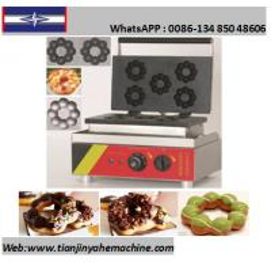 Quality TJ-3 5 Donuts/Batch Mini Donuts/Blossom Shape Donut Baker Machine for sale