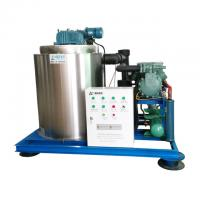 Quality 5 Ton Flake Ice Making Machine Air Cooling / Water Cooling For Fish Industry for sale