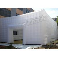China Marquee Reinforced Seam Inflatable Event Tent PVC Stretch Building Tent With Door And Windows on sale