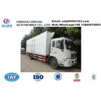Quality whole sale best price dongfeng tianjin 4*2 LHD 15tons cold room truck, HOT SALE! bottom price dongfeng cold room truck for sale