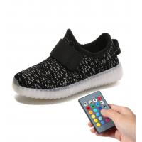 Quality Skate Boys Remote Control LED Shoes USB Charging For Kids Girls Sneakers for sale