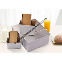 Quality Aluminum Toast Bread Mold Non Toxic Rectangular Shape Height 110mm for sale