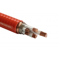China 800 X 600 2.5mm2 Fire Resistant Cable With Inorganic Mineral Synthetic Mica Tape on sale