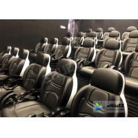 Quality Electronic System Decoration 5d Cinema Equipment CPU Control / 5d Movie Theater for sale