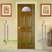 Quality Solid Entry Doors For Apartment, Front Entry Door For Sale, Exterior Solid Wood Panel Doors With Glass Panels for sale