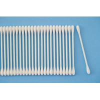 Quality Natural Cosmetic Cotton Buds , Earbuds Cotton Swabs Home Hotel Applied for sale