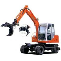 Quality Timber Loader Wheel Excavator Full Rotation for sale