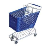 China Plastic Shopping Trolley/Cart on sale