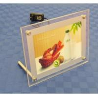Quality Table Acrylic Sign Holder , LED Illuminated - Clear,table backlit slim sign for sale