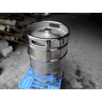 China Large Stainless Steel Beer Keg Electro Polishing 15.5 Gallon Keg SGS FDA Certificated on sale