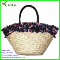 Buy reusable shopping bags for women shouldere beach straw tote bags at  wholesale prices c3af67f2b7