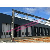 China Multi Leaf Sliding Folding Depot Doors Commercial Folding Doors With Drive Systems Design on sale
