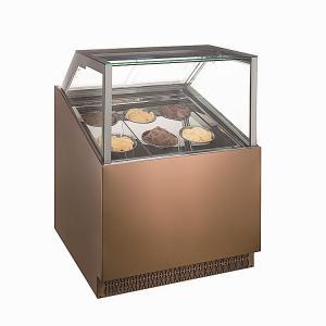 Quality Gelato Ice Cream Display Freezer Showcase with 10 -18 Pans for sale