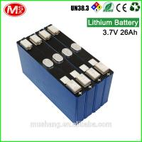 China Wholesale best factory price 3.7V LiFePO4 battery for Korea storage battery on sale