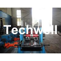 C Section Channel Roll Forming Machine with Gearbox Drive for Making Steel C Purlin
