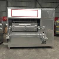China Automatic Egg Tray Equipment , 2950 * 1320 * 1500mm Carton Forming Machine on sale