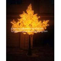 Quality led artificial trees-Led Ginkgo Tree Light for sale