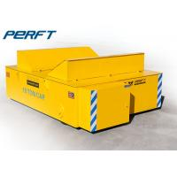 Quality 20t Steel Motorized Coil Transfer Trolley applied in Steel Mill for Industrial Material Handling for sale