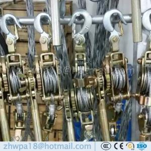 Quality Export standard model web strap puller Ratchet puller for sale